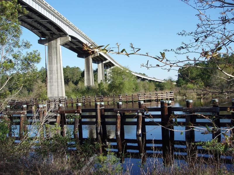 Cross Florida Barge Canal<br /> photo credit: Robert Coveney / Florida Trail Association