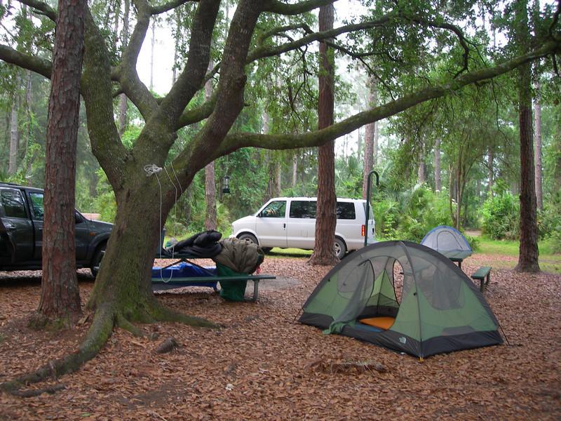 Rodman Campground<br /> photo credit: Pheobe Dowdy / Florida Trail Association