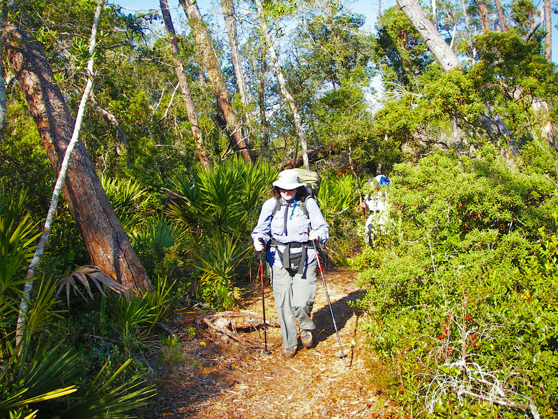 Backpacking in the Ocala National Forest<br /> photo credit: Deb Blick / Florida Trail Association