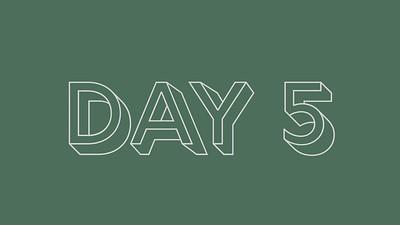 Week 1 Day 5