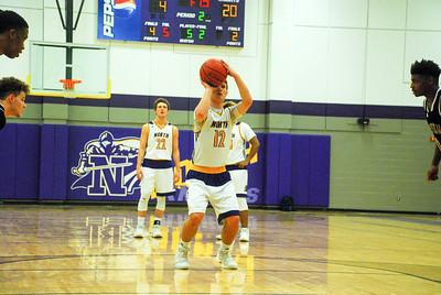 North and Asheville high Varsity Basketball 2017/18
