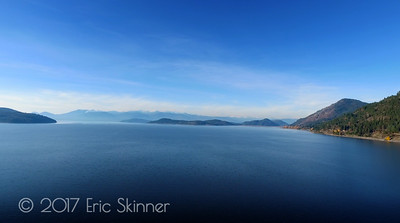 Selkirk Mountain Range Across Lake Pend Oreille