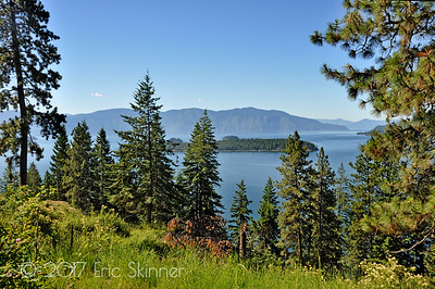 Lake Pend Oreille and Warren Island