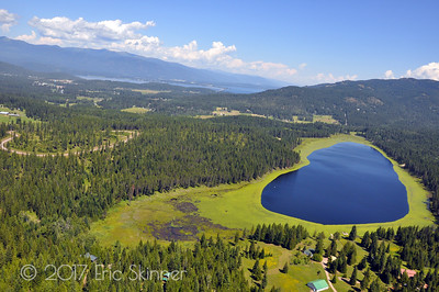 Shepherd Lake in Sagle, Idaho