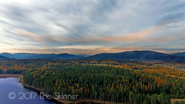 Dreamy Sagle, Idaho in the Fall