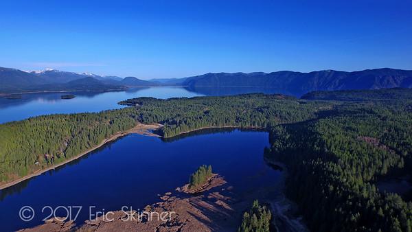 Gamlin Lake, Sagle Idaho
