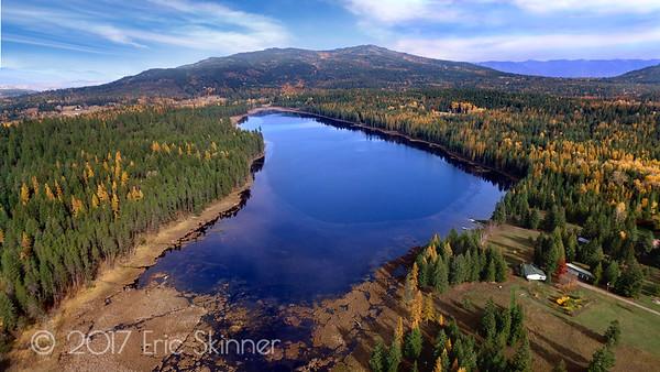 Shepherd Lake Looking at Gold Mountain