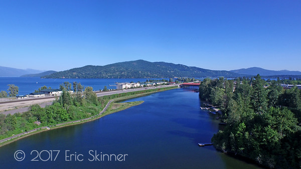 Sandcreek in Sandpoint Idaho