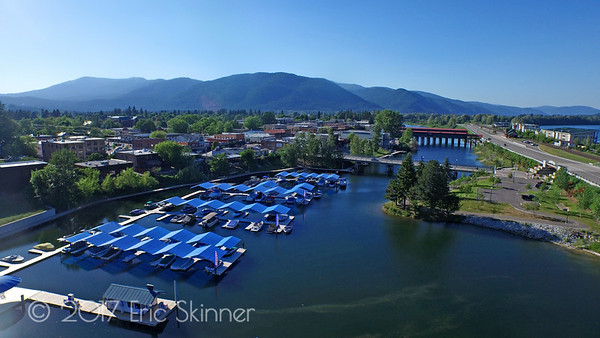 Sandpoint Marina on Sand Creek