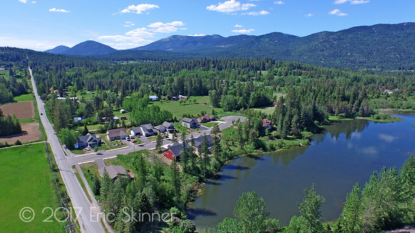 Pine Street Hill in Sandpoint Idaho
