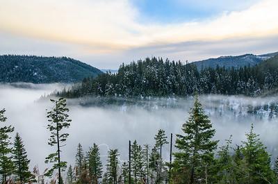 Chilco Mountain Fog