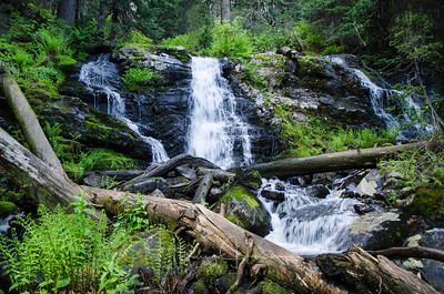 Thompson Pass Waterfall