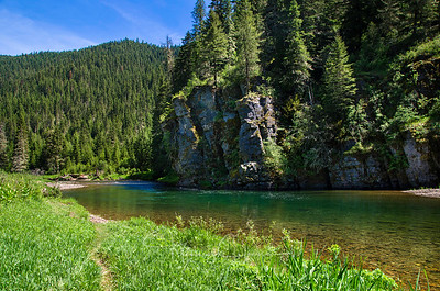 NF of the CdA River