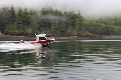 Ripping Along On Knight Inlet - Knight Inlet, British Columbia, Canada