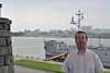 Me in front of the USS pueblo
