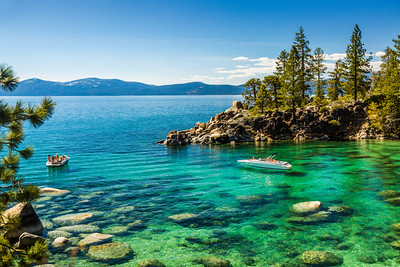 Secret Cove Boater, Lake Tahoe