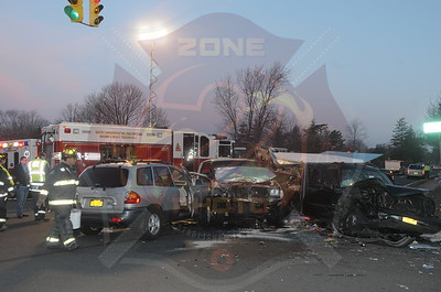 North Lindenhurst F.D. MVA w/ Multiple Entrapment  New Highway and New Horizons Blvd. 3/19/15