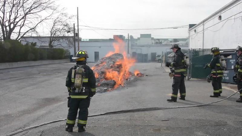 North Lindenhurst and Lindenurst Garbage Truck Fire- Paul Mazza