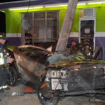 North Lindenhurst F.D. MVA w/ Entrapment Sunrise Hwy. and Wellwood Ave. 11/22/14