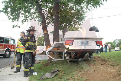 North Lindenhurst F.D. MVA w/ Overturn Albany Ave. and Russel Ct. 6/23/11
