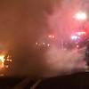 North Massapequa Car Fire with Driver Injured- Paul Mazza