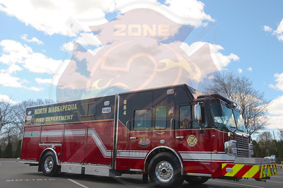 North Massapequa F.D.  Fleet, Engine Co.3 Apparatus and New Heavy Rescue 664   4/26/15