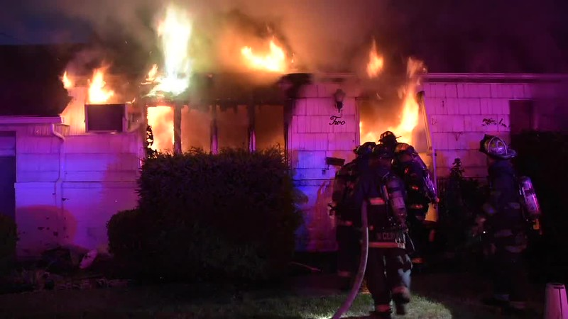North Massapequa House Fire- Paul Mazza