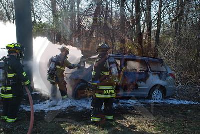 South Farmingdale, North Massapequa F.D. MVA w/ Car Fire S.S. Pkwy. near Bethpage Pkwy. 12/2909
