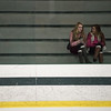 Fans, classmates, and family gather in the stands of a boys varsity hockey game between North Middlesex and Nashoba at the Wallace Civic Center in Fitchburg on Wedneday Jan. 25, 2017. (Sentinel & Enterprise photo/Jeff Porter)