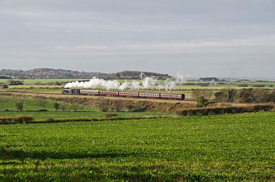 90775 heading towards Weybourne near Bridge 303