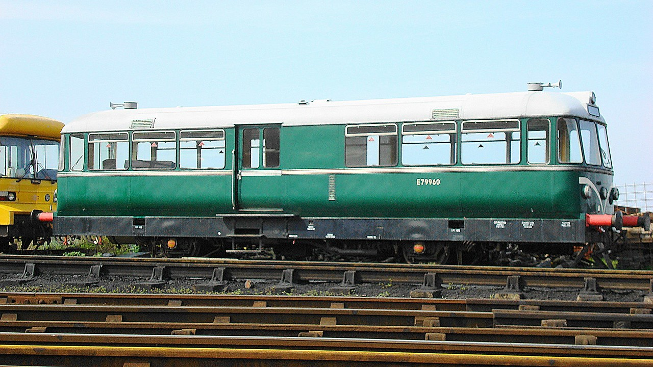 BR 79960 4w German-built diesel railbus 21,04,2008 (Now At Ribble Steam Railway)