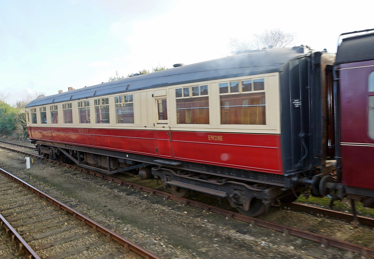 LNER 9128 (51769) Gresley Buffet Car 03,03,2013