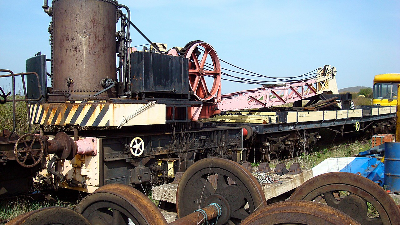 BR 80117 Grafton Steam Crane 21,04,2008