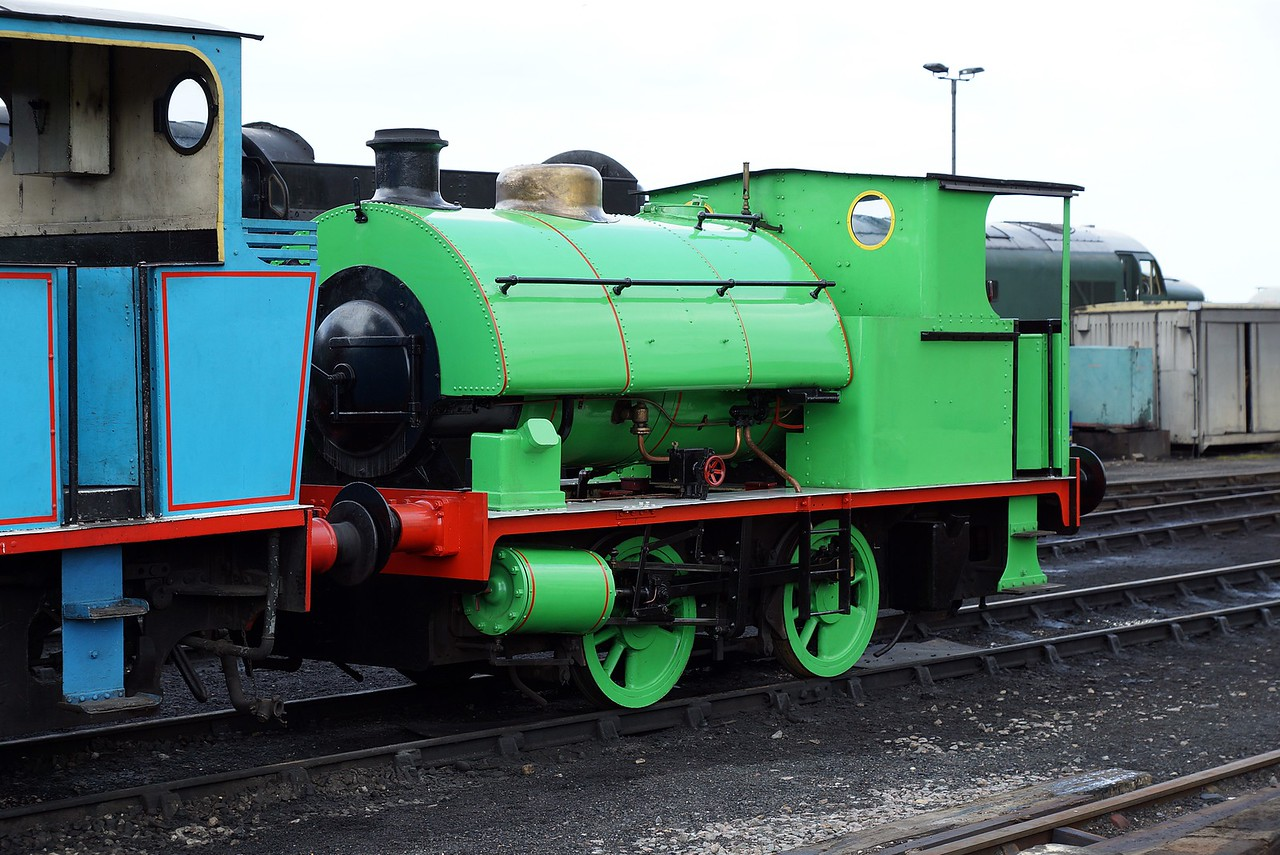 ST 2542 WB 0-4-0ST 03,05,2016 (Visitor From East Anglian Railway Museum)