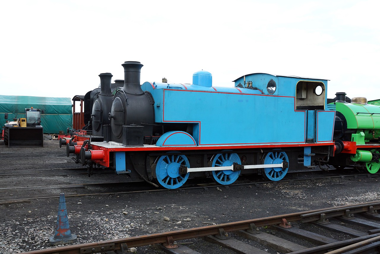 ST 7031 RSHN 0-6-0ST 03,05,2016 (Visitor From East Anglian Railway Museum)