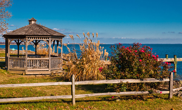 Gazebo and Garden, Northpoint State Park, Maryland