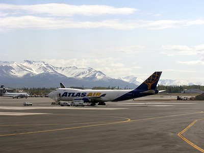 I saw several airlines in Anchorage that I had never heard of.