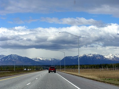 The highways were generallly good and the scenery was generally great.