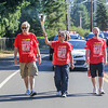 Northern route relay day 40, Special Olympics torch run through Olympia, WA.