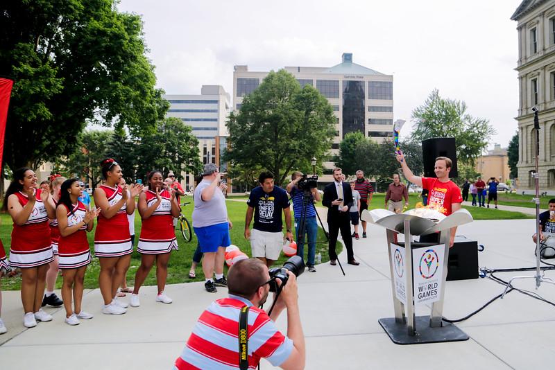 Unified Relay Across America celebration in Lansing, MI