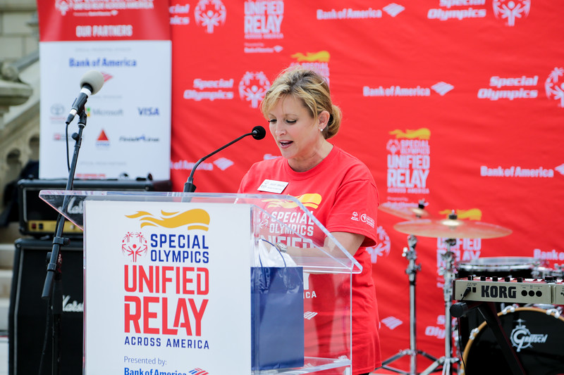 Unified Relay Across America celebration in Lansing, MI