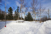 Here is a sequence of photographs of setting up camp in Temperance River State Park Minnesota.