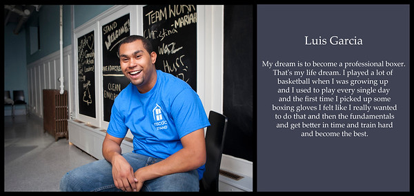 October 17, 2012. Salem, MA. Luis Garcia at the North Shore Community Development Coalition. © 2012 Marilyn Humphries