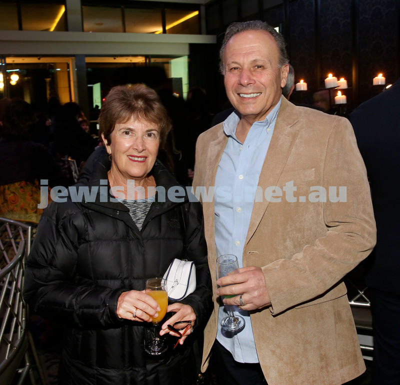 Chabad Noth Shore's Friends Of Chabad Gala Dinner at Curzon Hall. Sara & Ian Miller. Pic Noel Kessel.