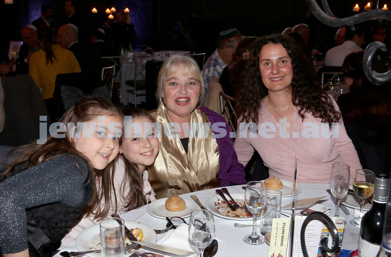 Chabad Noth Shore's Friends Of Chabad Gala Dinner at Curzon Hall. Pic Noel Kessel
