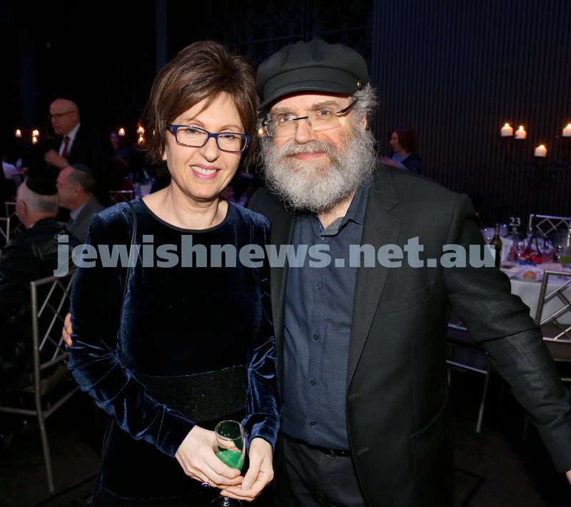 Chabad Noth Shore's Friends Of Chabad Gala Dinner at Curzon Hall. Tzivia & Yehoshua Israel. Pic Noel Kessel.