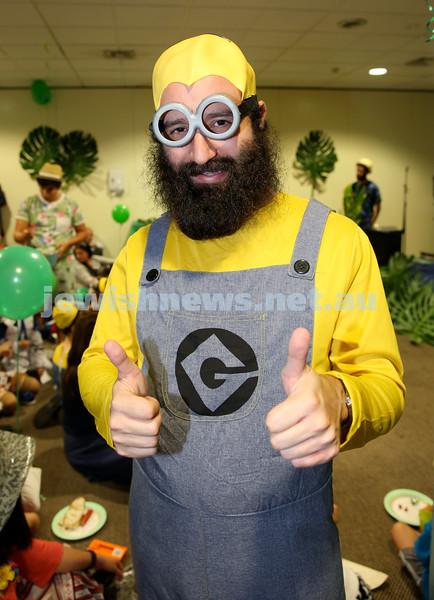 Chabad North Shore Purim in the Jungle Party. Eli Gescheit. Pic Noel Kessel.
