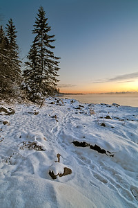 Lake Superior Sunrise at French River