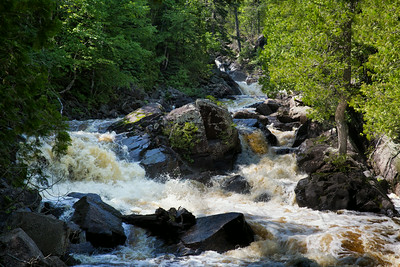 Manitou River - Un-named Falls