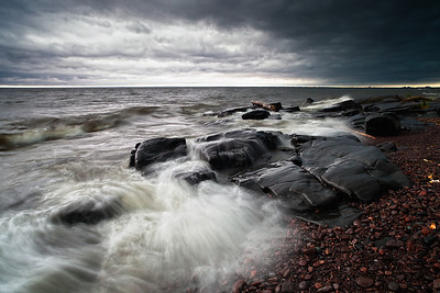 Storm Brewing Over Lake Superior